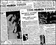Ejemplares históricos de The Times