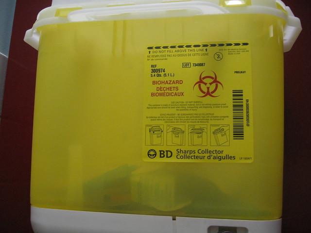 Biohazard in the Bathroom