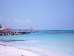 Beach at FDR resort, Runaway Bay Jamaica