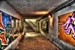 graffiti gallery (Paul Galliano) Tags: city urban canon underground graffiti gallery canon300d decay urbandecay tunnel exposition trento urbano murales hdr trentino gar citt galliano passaggio metropoli degrado sottopassaggio tonemapping canestrini golddragon platinumphoto aplusphoto paulgalliano jediphotographer
