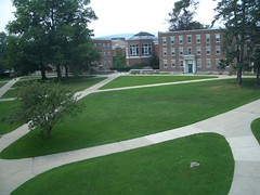 The odd quad, from my window (holycheesesticks) Tags: williamscollege summer08