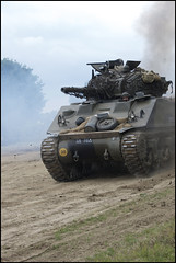 Sherman tank charges