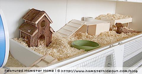 'Ikea' Hamster Home
