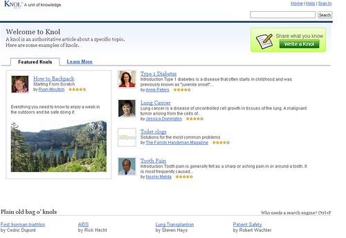 Thumb Nuevo Google Knol quiere competir con Wikipedia