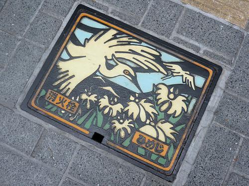 Himeji's White Heron