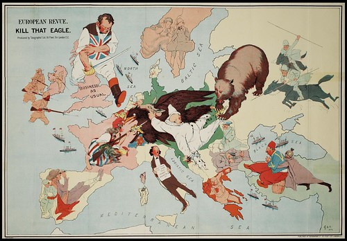 European Revue (Kill That Eagle) 1914