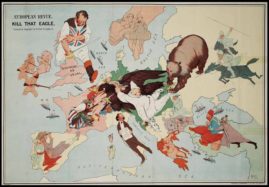 2722416012 3fd0746435 b Satirical Maps of Europe