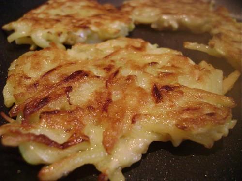 Squash & Potatoe fritters