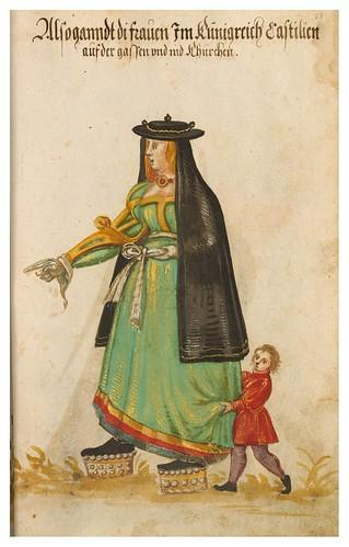 05- Vestimenta en Portugal y España año 1600, 23r