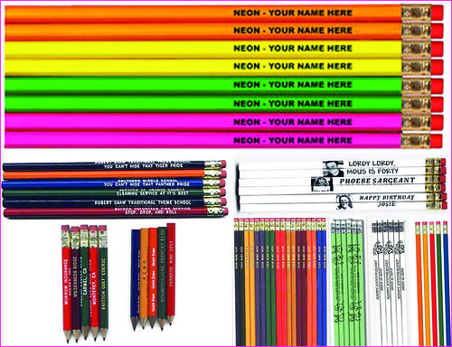 write-on pencils