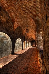Arch halls at Castle de Amorosa (Photomike07 / MDSimages.com) Tags: world california travel usa brick castle digital america photography blog vineyard nikon media arch shadows unitedstates pacific wine bricks calistoga halls arches structure winery replica processing bayarea napavalley napa northamerica recreation westcoast cellar hdr d3 winecountry oldworld amorosa imported napacounty photomatix tonemapping impressedbeauty castellodiamorosa damniwishidtakenthat michaelsteighner mdsimages hyliteproductions castledeamorosa photomike07 mdsimagescom hylitecom