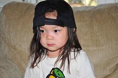 Ree always always always wears her hats backwards