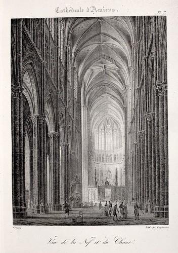 Amiens05- Vista de la nave y del coro