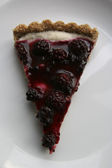 Blackberry and Lemon Tart
