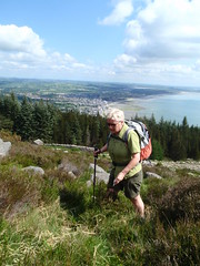Heading up the side of Thomas Mountain (Widows Row, United Kingdom) Photo