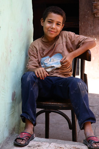 A Friendly Smile In Cairo