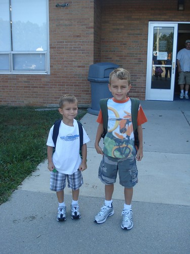 Blake and Chase - Kindergarten & 3rd grade