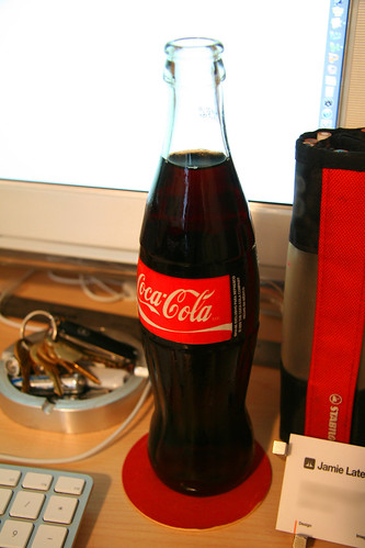 Imported Coca-Cola® (in glass) by Jamie Latendresse.