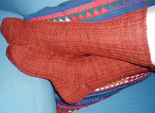 Rust socks 8