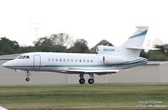 N663MK (PHLAIRLINE.COM) Tags: plane aviation flight airline falcon planes trenton dassault bizjet ttn 900ex n663mk merckco trentonmercerairport