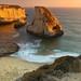 Davenport Cliff Pacific Ocean