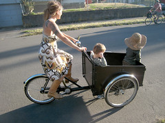 Christiania no longer for sale (Patrick Barber) Tags: family bike boots cargo trike christiania carvscargo