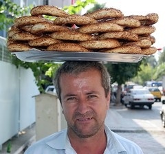 Simit in Fethiye, Turkey