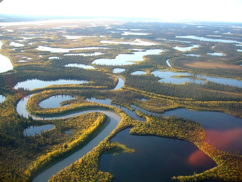 On the way from Inuvik to Tuk