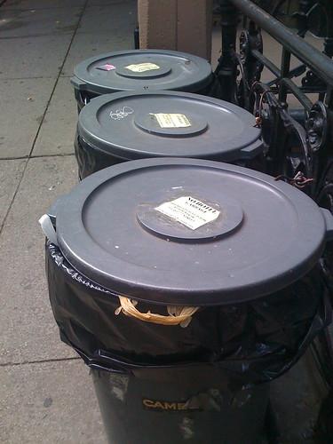 Anti-Hotel Trash Trash Cans