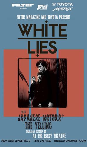 White Lies 10/30