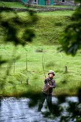 Stalking the Fisherperson (JOE O/S (now in Tura Beach!)) Tags: scotland glenlyon