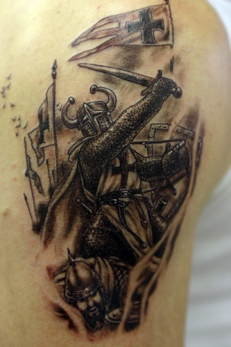 Warrior-Tattoo by The Tattoo Studio