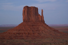 Later In the Evening (Bull Rider) Tags: arizona butte navajo monumentvalley