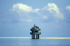 Bongan sandbar (Farl) Tags: travel sea sky colors clouds philippines sandbar bohol substation jao denr bongan bienunido
