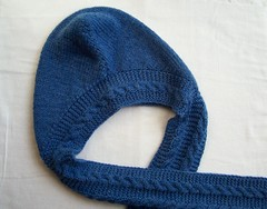 Hooded Scarf, Close-Up