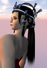 Plasma (Elif Ayiter/Alpha Auer/..../) Tags: hair design object sl secondlife alphaauer npirl tekelilitantalus objecthair