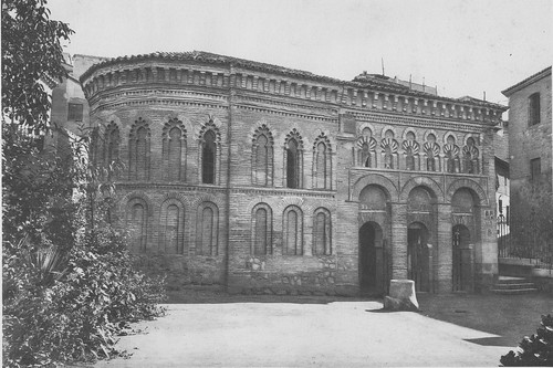 Mezquita del Cristo de la Luz (Toledo), hacia 1920. Foto Aldus
