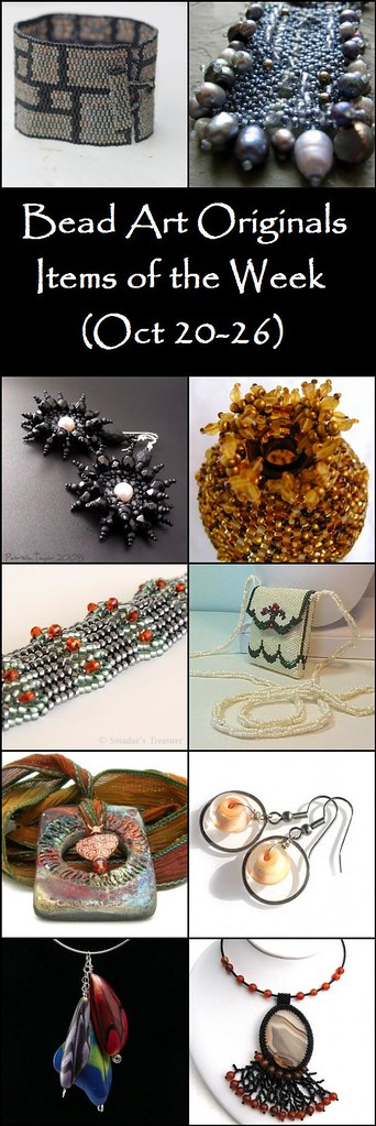 Bead Art Originals Items of the Week (10/20-10/26)
