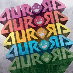 Aurora Sticker Design