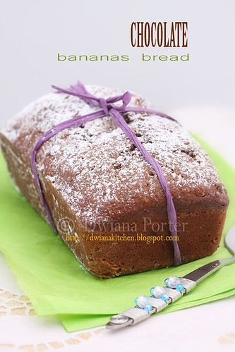 chocolate bananas bread