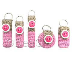 Keychain Lip Balm Holders (Lipcrmehouders) (Made by BeaG) Tags: original creativity design cozy artist belgium designer handmade unique oneofakind ooak kunst crochet belgi creation holder lipbalm unica unicum cozies innovative beag innovatief kunstenares innovantes uniquedesign ontwerpster chapstickholder originaldesigner creativedesigner lipbalmholder crochetedkeychain handmadekeychain inovadores chapstickcozy keychaincrochet lipbalmcozy crochetkeychain keychainlipbalmholder keychainlipbalmholders lipbalmholders chapstickholders designedandmadebybeag uniekontwerp ontworpenengemaaktdoorbeag gehaaktesleutelhanger crochetkeychains
