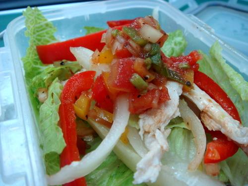 今日午餐-墨西哥莎莎醬沙拉