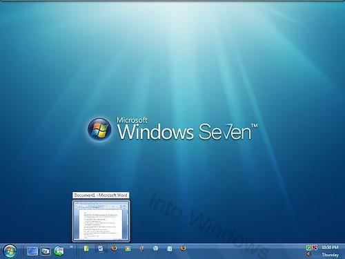 Transformez la barre des tâches Vista en barre des tâches Windows 7