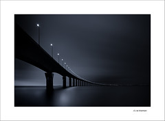 """The Dying of the Light"" (Ian Bramham) Tags: longexposure bridge france industry photography photo nikon fineart bridges explore wabisabi ndfilter leder d40 vle nikond40 ianbramham"