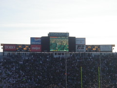 Michigan State vs. Wisconsin Game by fusionmonkey