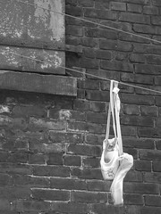 ballet shoes (Cat Starr) Tags: ballet scenery shoes district distillery 15challengeswinner