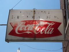 OH Bradford - Pastime Recreation (scottamus) Tags: old ohio sign vintage soft bradford cola drink coke plastic recreation coca pastime miamicounty