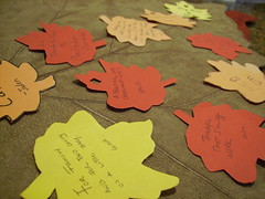 Construction-Paper Leaves