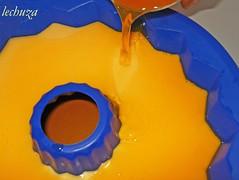 Bavarois de mango-vertemos gelatina