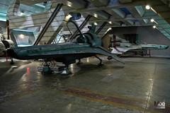 Vipers on Hanger Deck (Moe W) Tags: canada television set vancouver bc scifi sciencefiction fighters 75 viper spaceships mkii battlestargalactica bsg seasonthree mkvii hangerdeck mauricewoodworth